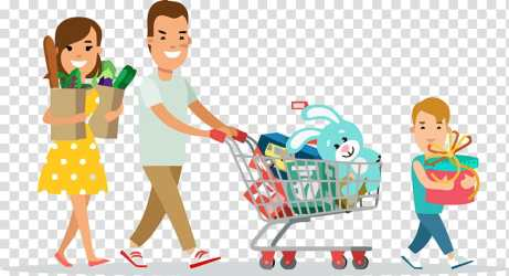 Family day happy family day family Shopping Cart Cartoon Vehicle Sharing Play Child Fun transparent background PNG clipart HiClipart