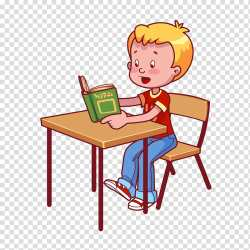 Desk Cartoon transparent background PNG cliparts free download HiClipart