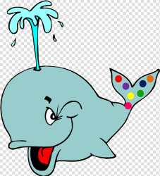 Whale Whales Cartoon Down By The Bay Polka Animation Music Polka Dot transparent background PNG clipart HiClipart
