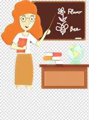 Teachers Day Student Education School Student Teacher Business Cards Google Classroom Cartoon Blackboard transparent background PNG clipart HiClipart