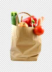 Plastic Bag Paper Shopping Bag Food Paper Bag Vegetable Grocery Store Healthy Diet transparent background PNG clipart HiClipart