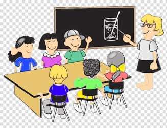 School Child Classroom School Teacher Student Classroom Management Classroom Climate Cartoon transparent background PNG clipart HiClipart