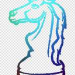 Knight Chess Horse Chess Piece Drawing Line Art Mane Transparent Background Png Clipart Hiclipart