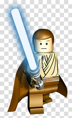 Lego Obi Wan Icon : Transparent, Background, Cliparts, Download, HiClipart