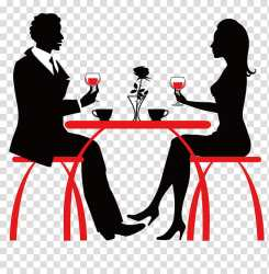 Cafe Coffee Cafeteria Drink Restaurant Silhouette Table Conversation transparent background PNG clipart HiClipart