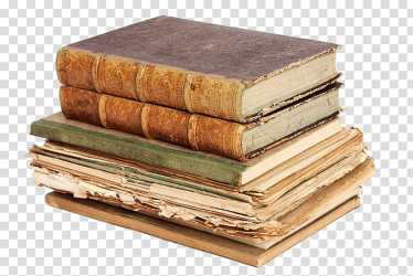 Vintage pile of books transparent background PNG clipart HiClipart