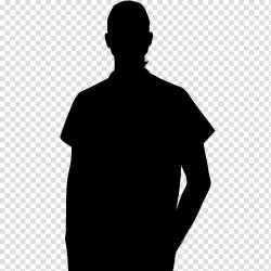 Silhouette Boy Clipart Black And White