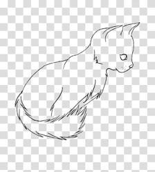 Cat Sketch transparent background PNG cliparts free download HiClipart