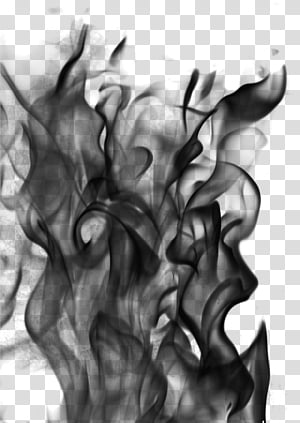 Black Flames Png : black, flames, Flame, Brushes,, Black, Smoke, Illustration, Transparent, Background, Clipart, HiClipart