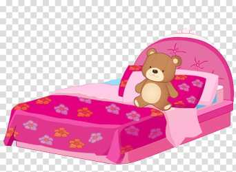 HermOso de muebles pink bed transparent background PNG clipart HiClipart