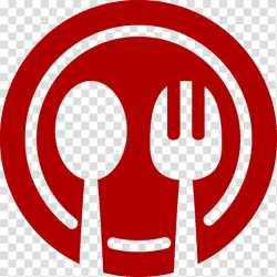 Restaurant Logo Food Menu Waiter Bar Cuisine Red Symbol transparent background PNG clipart HiClipart