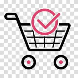 Ecommerce Logo Shopping Cart Online Shopping Shopping Centre Shopping Cart Software Shopping Bag Pink Vehicle transparent background PNG clipart HiClipart