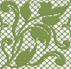 lace patterns green floral