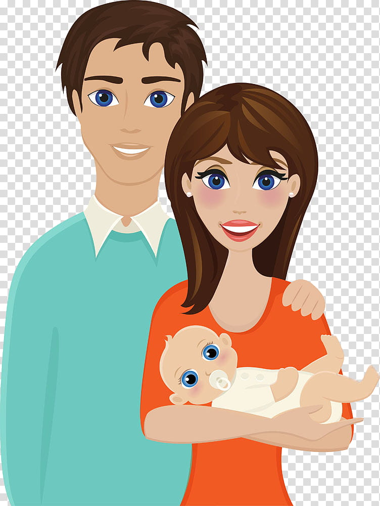 Mother And Father Cartoon : mother, father, cartoon, Family, Happy,, Mother,, Father,, Cartoon,, Cheek,, Human,, Finger,, Gesture, Transparent, Background, Clipart, HiClipart