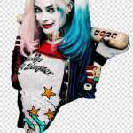 Harley Quinn Women S Black And White Long Sleeve Shirt Transparent Background Png Clipart Hiclipart