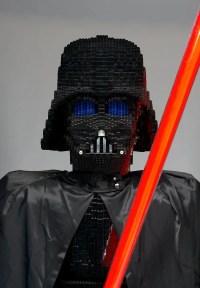 828: DARTH VADER LEGO STATUE : Lot 828