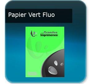 impression Affiches Papier vert fluoo