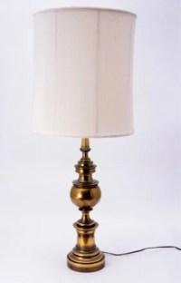2297: Brass Titanic Lamp : Lot 2297