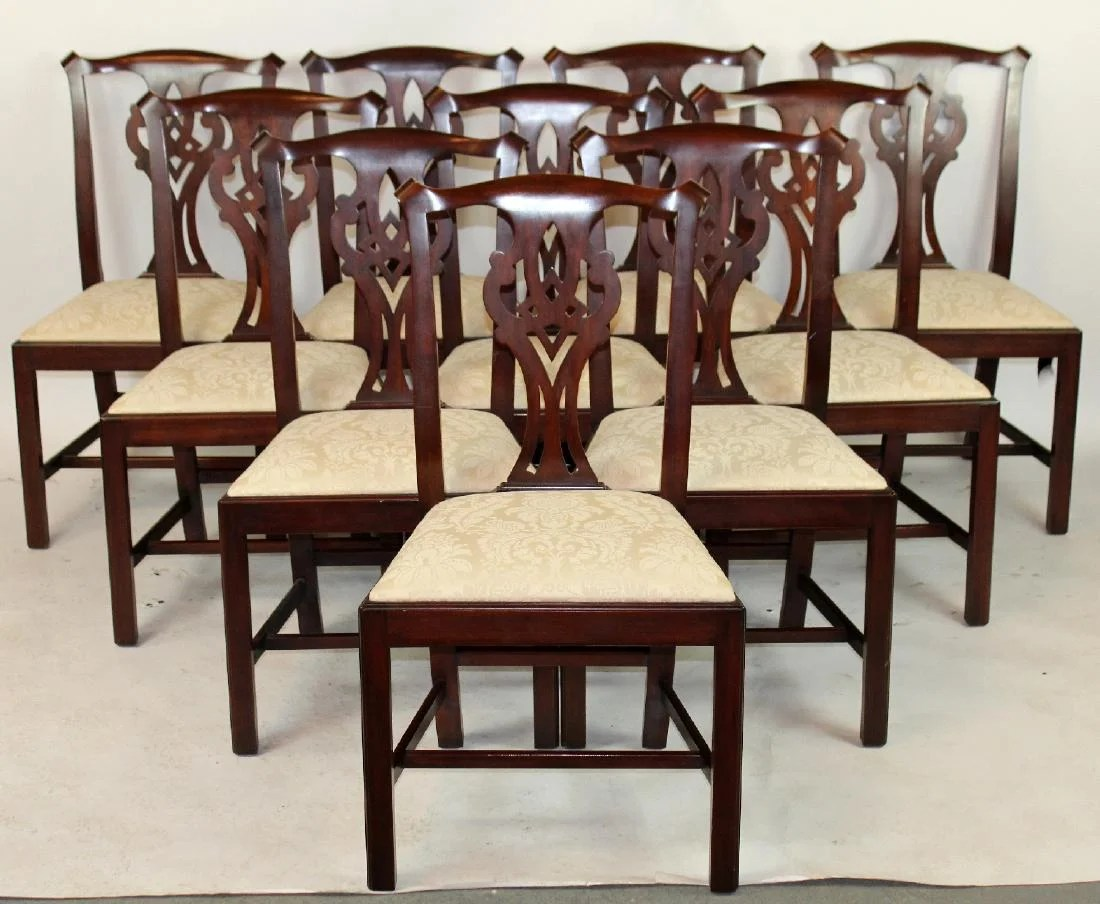 chippendale dining chair cream and black chairs 10 henkel harris