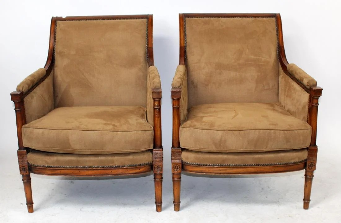 french bergere chair cream bean bag pair heritage chairs