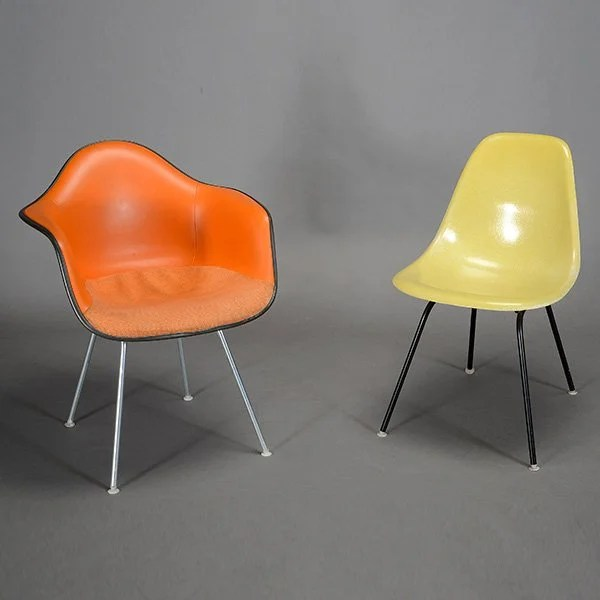 eames bucket chair black garden covers herman miller and shell