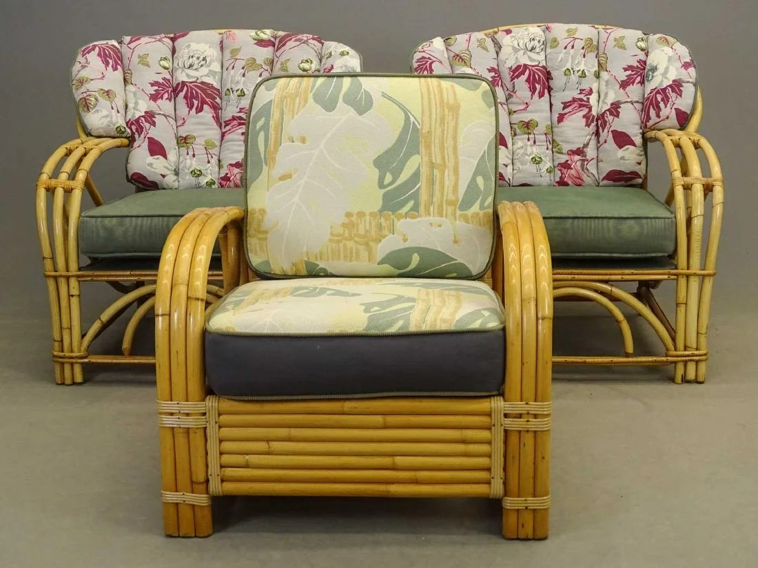 Bamboo Chairs Vintage Bamboo Chairs On Liveauctioneers