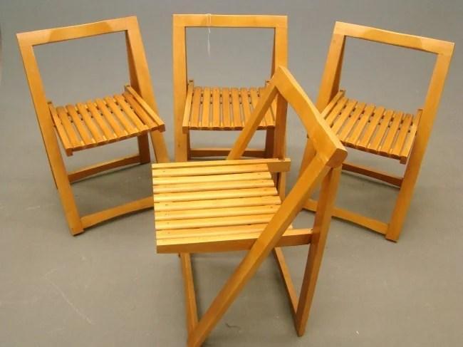 krueger folding chairs desk chair for carpet 577 mid century