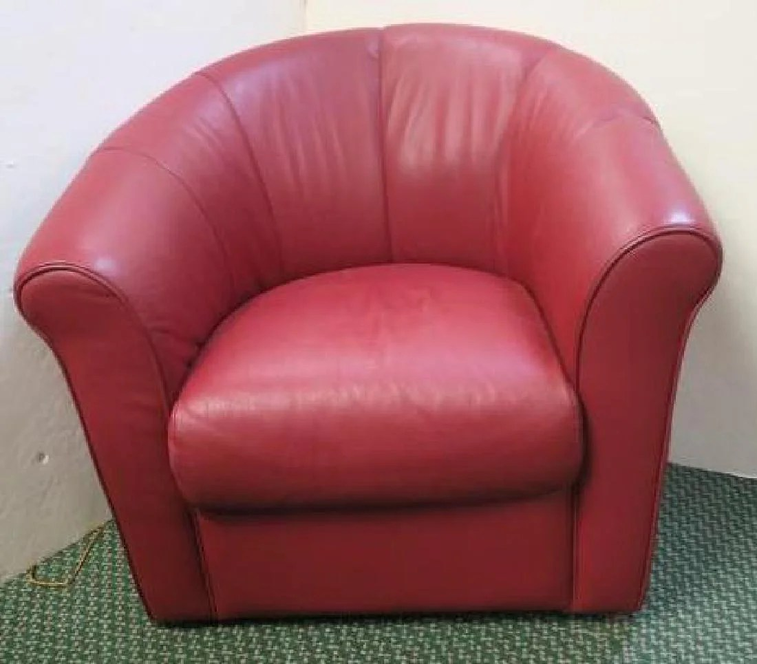 swivel club chair christopher knight dining chairs red upholstered italsofa leather
