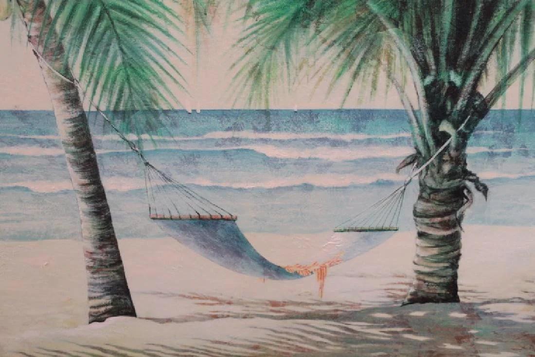 silkscreen oil on canvas