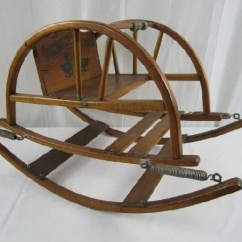1920s Rocking Chair Casters For Desk Chairs 1 D29 Oak Childs