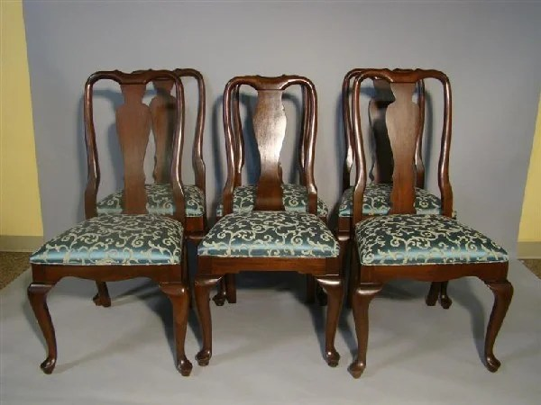 ethan allen queen anne dining chairs truck tailgate 299 six style