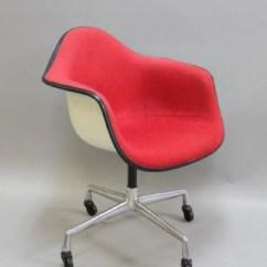 Fiberglass Shell Chair Cover Rental Philadelphia Mcm Herman Miller W Casters