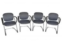 166: Lot 4 FLOTOTTO PAGWOOD PAGHOLZ Stacking Chairs. M ...