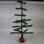 Vintage 1940 50s Tabletop Christmas Tree Jul 09 2017 Stony Ridge Auction In Oh