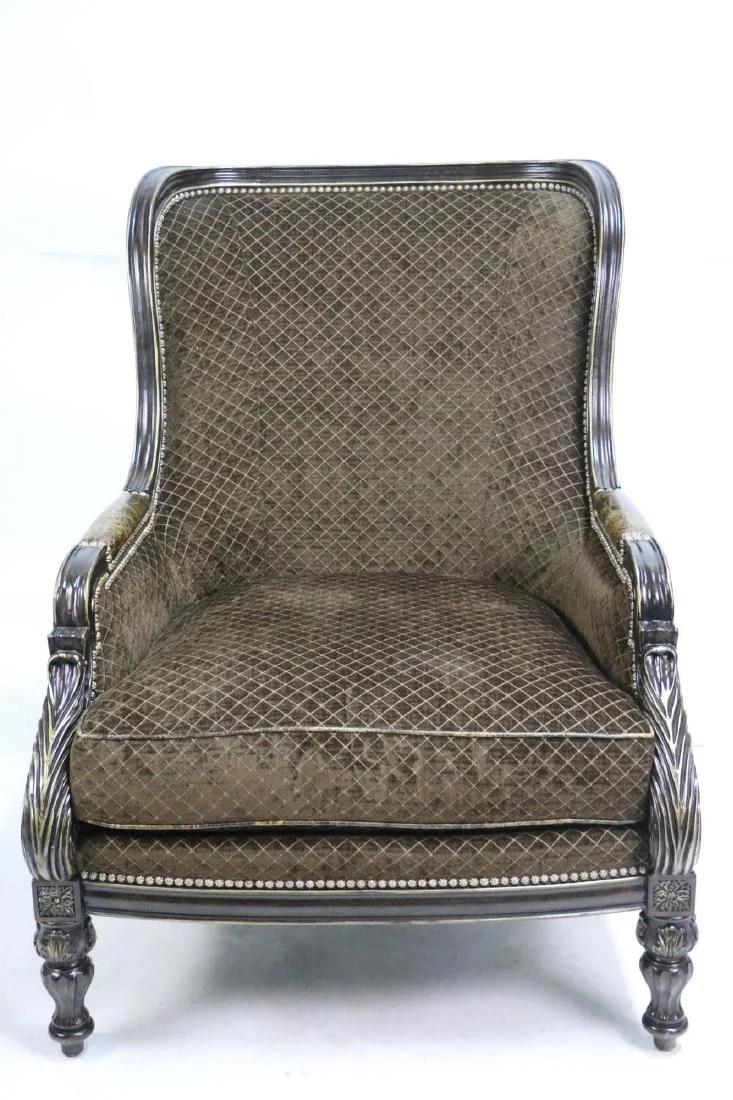 Oversized Wingback Chair Trump Home Collection Oversized Wingback Chair