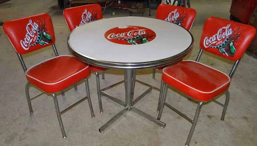 Coca Cola Table And Chairs Coca Cola Table And Chair Set