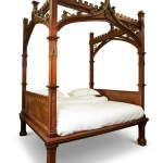 A Victorian Gothic Revival Four Poster Bed Circa 1860 Jan 21 2021 Dreweatts Donnington Priory In United Kingdom