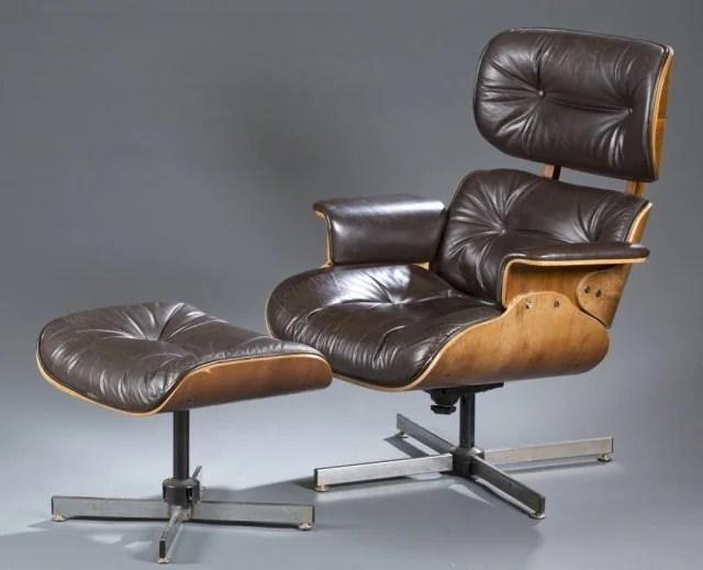 selig eames chair vintage lawn style lounge ottoman