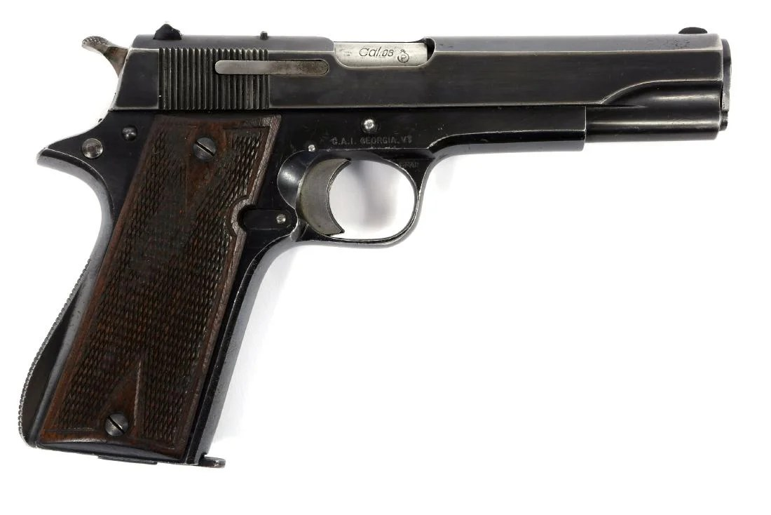 hight resolution of 1944 spanish star model b pistol for german army
