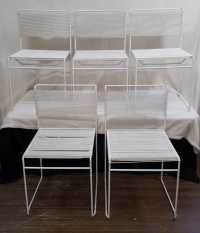 Mid Century Modern Italian Spaghetti String Chairs
