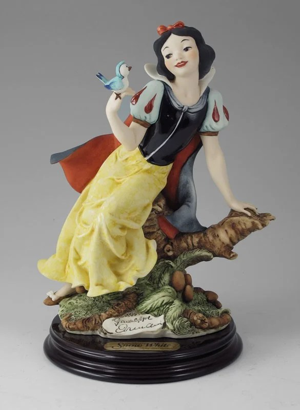 Giuseppe Armani Disney Snow White With Blue Bird