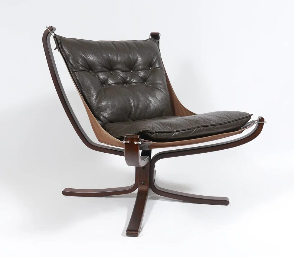 Falcon Chair Sigurd Ressel Falcon Chair For Vatne Mobler Leather May 19 2013 Burchard Galleries Inc In Fl On Liveauctioneers