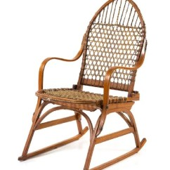 Antique Rocking Chairs For Sale Mobility Chair Parts Vintage A Tubbs Bent Ash Snowshoes Height 36