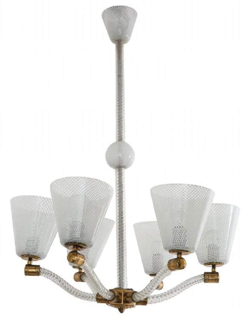 lampadario risalente agli anni '60/70, perfetto e funzionante. Murano Anni 80 Un Lampadario In Vetro Oct 30 2020 Aste Di Antiquariato Boetto In Italy