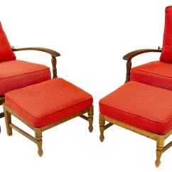 Teak Lounge Chair Upholstered Parsons Dining Room Chairs 4 Summer Classics Ocean