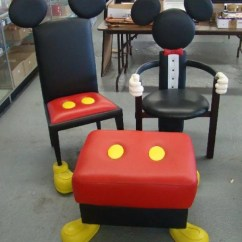 Mickey Mouse Armchair Uk All Weather Outdoor Dining Chairs 1710g Disney And Ottoman