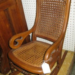 Rocking Chair Cane Dining Room Chairs On Sale 112 Child S Back Seat