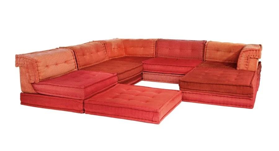 Hans Hopfer, Mah Jong Modular Sofa (6