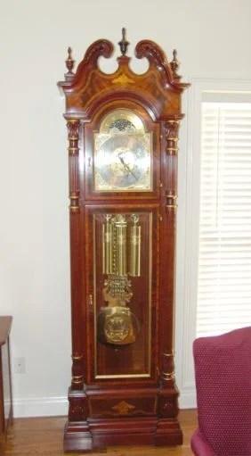 138 Charles R Sligh Grandfather Clock Model 0233