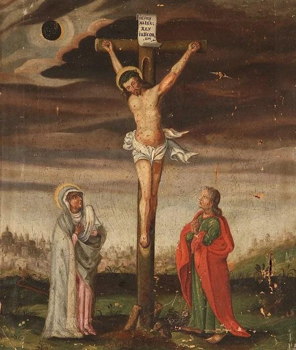 Master Religious Paintings Pair